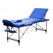 Masa masaj plianta - Aluminiu 3 Albastru