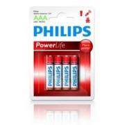 Philips Batterij Penlite LR03 Micro Powerlife 1.5V AAA Per 4