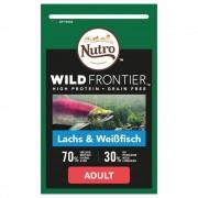 Nutro Wild Frontier Adult за котки със сьомга и бяла риба - 3 x 4 кг