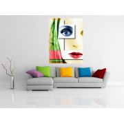 Tablou canvas abstract face - cod W07