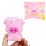 Cartoon Pig Squishy 8cm Slow Rising Soft Collection Gift Decor Toy Pendant
