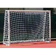 Rede para Gol Futebol de Salão Tradicional Nylon (Par) - Fio 4mm