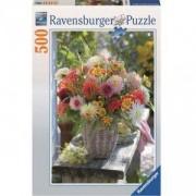 Пъзел Ravensburger 500 елемента, Букет цветя, 701088