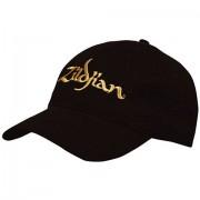 Zildjian T3200 Black Baseball Cap gold Logo Cap