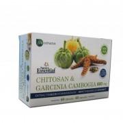 Nature Essential Chitosan y garcinia cambogia 800mg 60 cápsulas. nature essential - control de peso