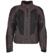 Modeka Upswing Textile Jacket Black Grey M