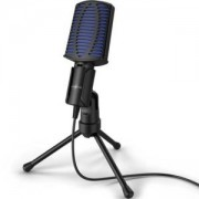Настолен микрофон uRage Stream 100, USB, Черен, HAMA-186017