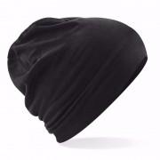 Beechfield Katoenen muts zwart voor dames