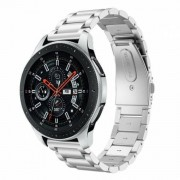 eses 1530001061 metalni remen za Samsung Galaxy Watch 42 mm/Samsung Gear Sport/Garmin Vivoactive 3, srebrni