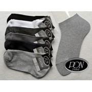 Ponožky s ELASTANEM kotník, velikost 29-30