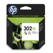 HP 302XL cartouche d'encre trois couleurs grande capacité