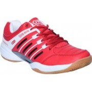 Gowin Ultra Senso Red/White Non Marking Sole Badminton Shoes / Court Shoe Size-11 Badminton Shoes For Men(Red, White)