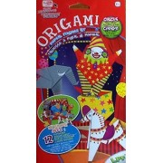 Beginners Origami Paper Folding Kit ~ Circus ~ Ball Clown Elephant Horse