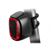 Meilan X6 Smart Switch 6 Flash Models Rechargeable Bicycle Tail Light(Black)