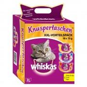 18x72g Whiskas Temptations - ropogós falatok cicasnack vegyesen XXL dobozban