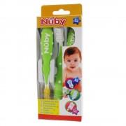 Nuby Zahnbürste Set 3 Schritten