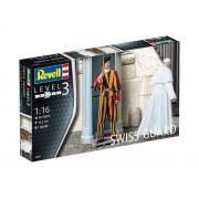 Figurina plastică ModelKit 02801 - Garda Elvețiană (1:16)