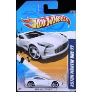 2012 Hot Wheels HW All Stars Aston Martin One-77 White #123/247