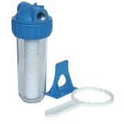 Filtru mecanic compact 10 inch 3/4 tol Everpro + filtru bumbac 10 inch,