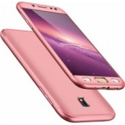 Husa Samsung Galaxy J7 2017 FullBody MyStyle Rose-Gold acoperire completa 360 grade cu folie de protectie gratis