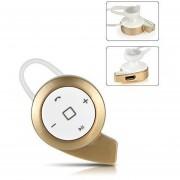 Audífonos Bluetooth Deportivos, Auriculares Estéreo Audifonos Bluetooth Manos Libres A8 Mini Auricular Inalámbrico Universal Para Todos Los Teléfonos (oro Blanco)