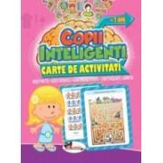 Jocuri pentru copii inteligenti +7 ani. Carte de activitati