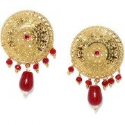 RUBANS Gold Color Circular Studs