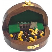 Danii Wooden Family Board Game - Chess (Size 6x6 inch.)