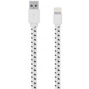 Cablu de date Serioux SRXA-MFI1MFAB-WHT, Lightning - USB, 1m (Alb)