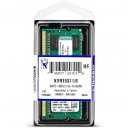 Memoria Ram KINGSTON 8GB DDR3 1600Mhz Laptop KVR16S11/8