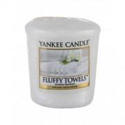 Yankee Candle Fluffy Towels 49 g vonná sviečka unisex