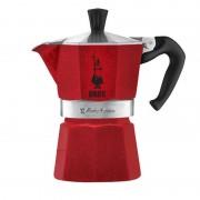Bialetti Moka Express 3 piros kotyogós kávéfőző