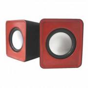 approx APPSPX1R Mini Altavoces 20 Usb 5W Rojo