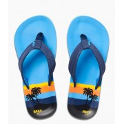 Reef Slippers Kids Ahi Blauw