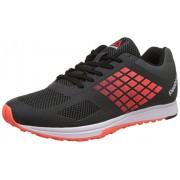 Reebok Men's Quantum Tr Gravel, Atomic Red, White and Black Multisport Training Shoes - 10 UK/India (44.5 EU)(11 US)