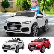HOMCOM Kinderauto Kinderfahrzeug Elektroauto Audi Q5 mit Fernbedienung 2 Farben