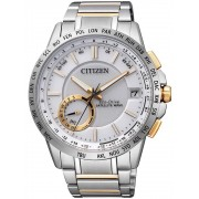 Ceas barbatesc Citizen Eco-Drive Satellite Wave Elegant CC3004-53E 44mm 10ATM