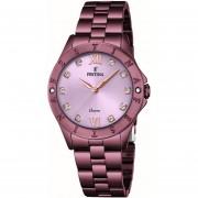 Reloj F16928/A Morado Festina Mujer Boyfriend Collection Festina