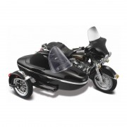 Maisto Speelgoed motor Harley Davidson FLHT Electra Glide zijspan 1997 1:18/15 x 3 x 6 cm