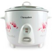 Brayden Rizo 1.5 500 W Electric Rice Cooker(1.5 L, Pearl White)