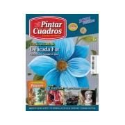 Revista de pintar cuadros, Flor azul