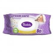 Violeta Baby vlažne maramice 80/1 Cream Care s kamilicom