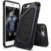 Husa Ringke iPhone 7 Plus ARMOR MAX SLATE METAL + Folie Ringke Invisible Defender Screen Protector