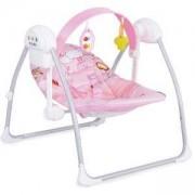 Електрическа бебешка люлка - Party Green, Cangaroo, Розова, 3560570