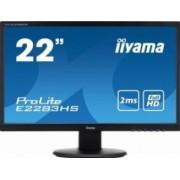 Monitor LED 21.5 Iiyama E2283HS-B1 Full HD 2ms GTG Negru