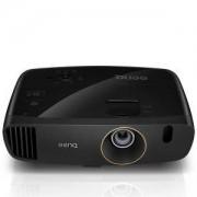 Видео проектор BenQ W2000+, DLP, 1080p (1920x1080), 15000:1, 2200 ANSI Lumens, VGA, HDMI, RCA, Speakers 2x10W, 3D Ready, Черен, 9H.Y1J77.18E