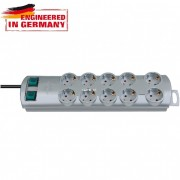 Brennenstuhl Primera-Line 10-es elosztósor 2m szürke 1153390120