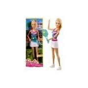 Boneca Barbie Profissões Quero Ser Tenista - Mattel