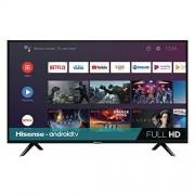 "Hisense 40H5500F PANHSE700 TV 40H5F, 40"", 1920 X 1080 Pixeles, 8 Ms, 1m, Full HD, Negro"