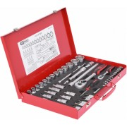 KS Tools 1/4 +1/2 Steckschl. 52-tlg.
